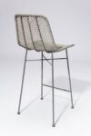 Alternate view thumbnail 4 of Lucas Grey Rattan Stool