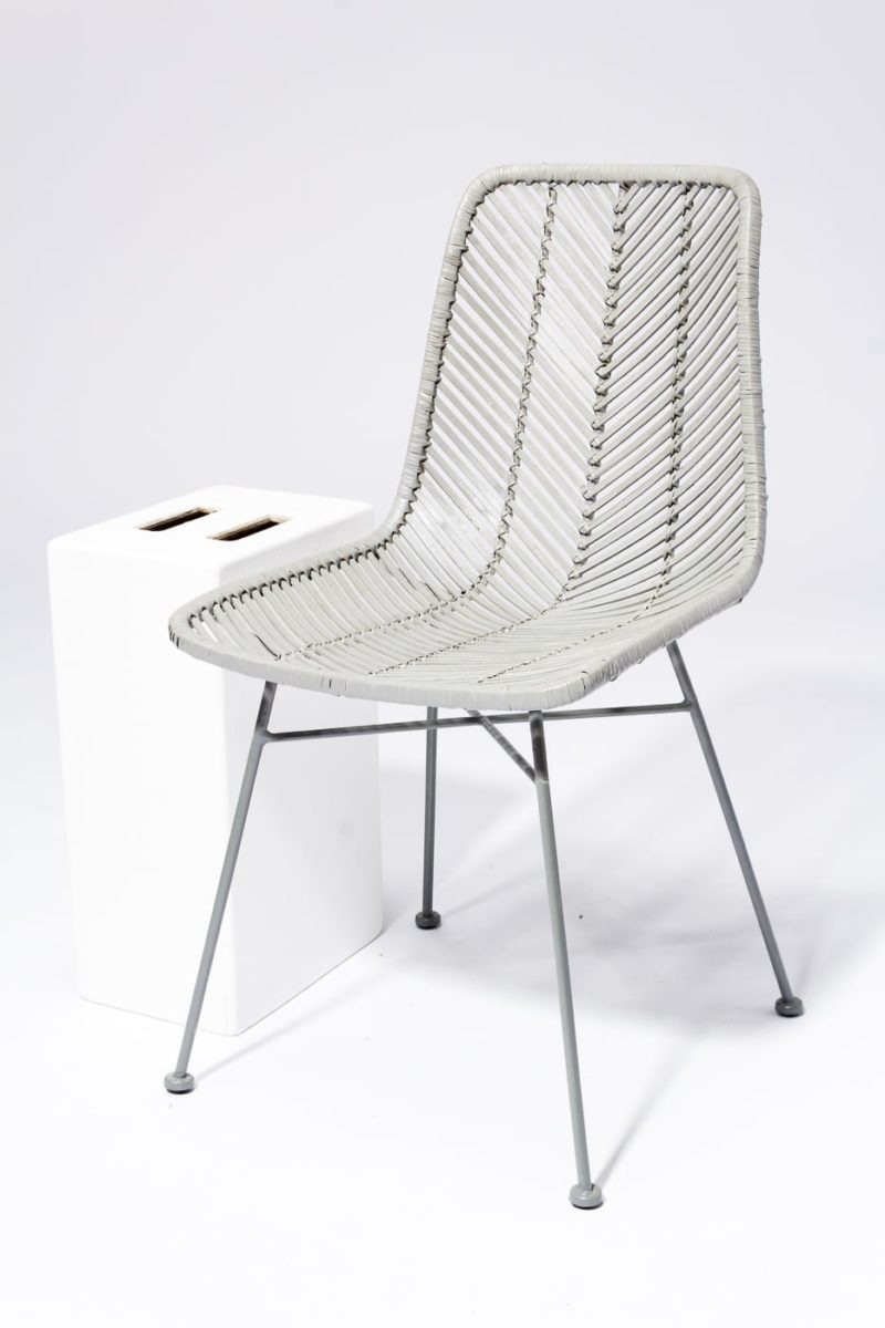 Alternate view 2 of Lance Grey Rattan Chair
