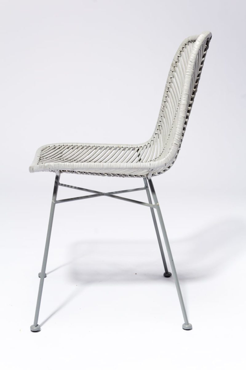 Alternate view 3 of Lance Grey Rattan Chair