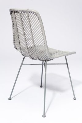 Alternate view 4 of Lance Grey Rattan Chair