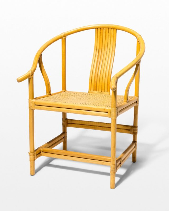 Front view of Harlow Rattan Chair