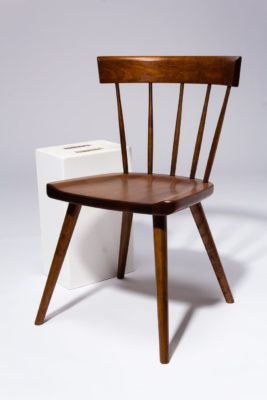 Alternate view 2 of Irving Cherry Saddle Seat Chair
