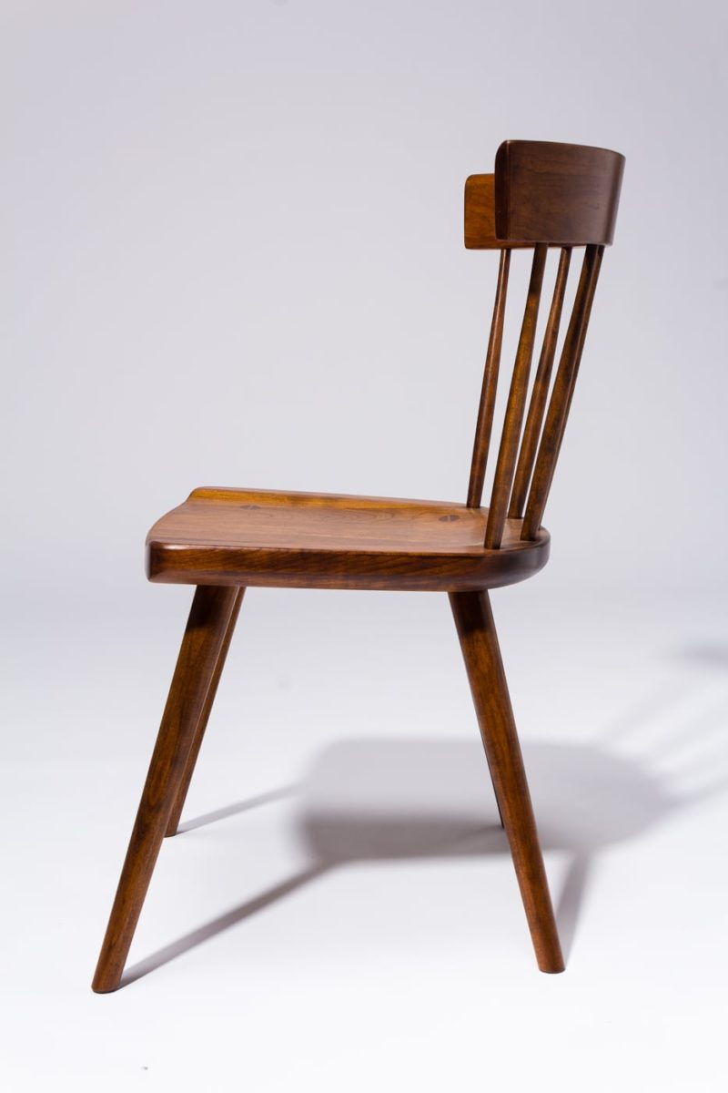Alternate view 3 of Irving Cherry Saddle Seat Chair