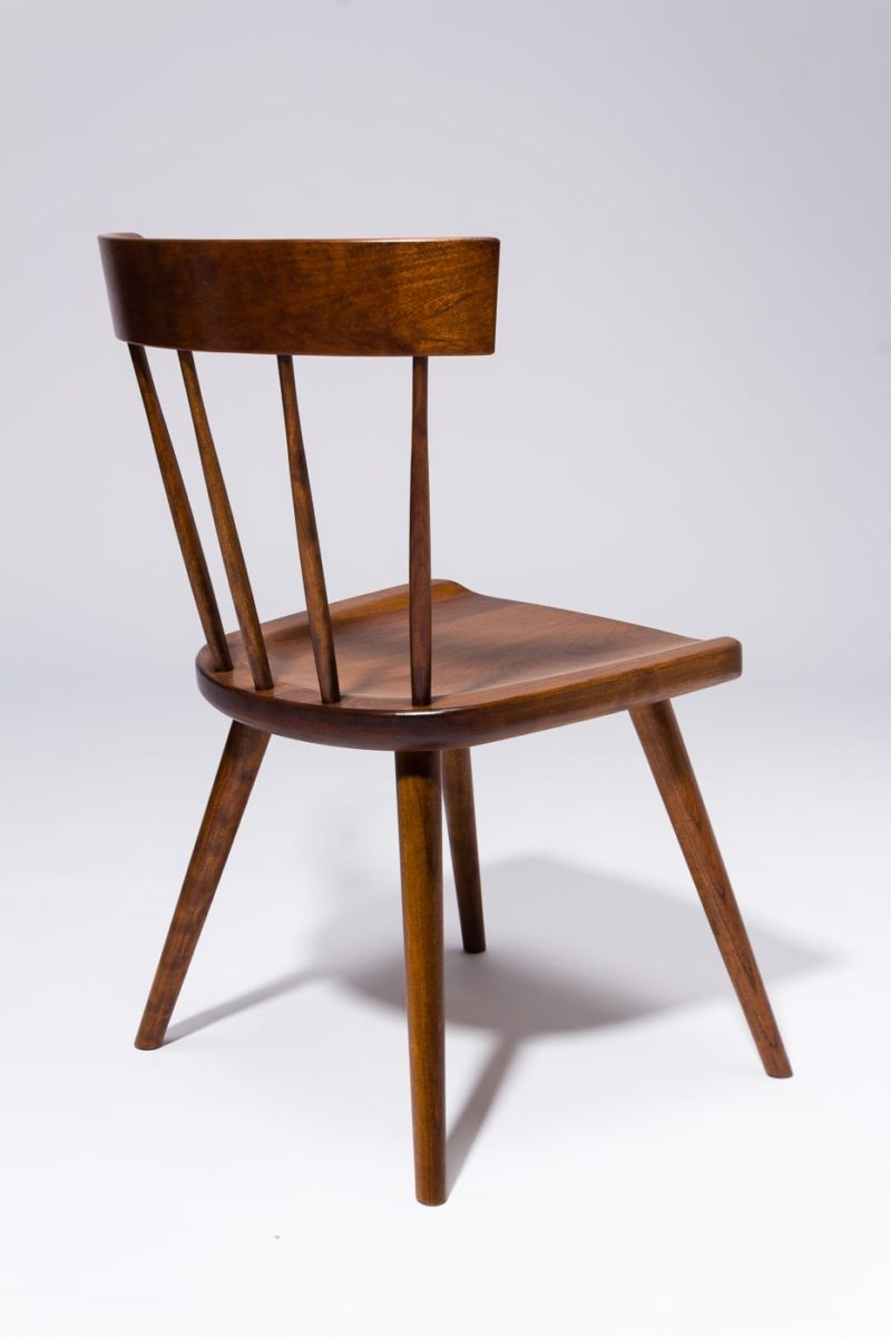 Alternate view 4 of Irving Cherry Saddle Seat Chair
