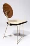 Alternate view thumbnail 4 of Joss Oak and Brass Frame Chair