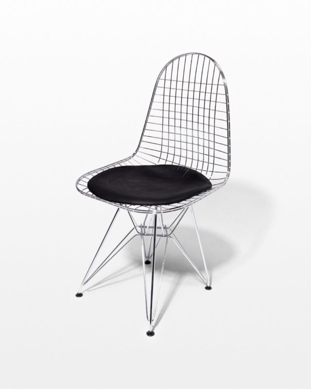 Front view of Griffin Chrome Eiffel Chair