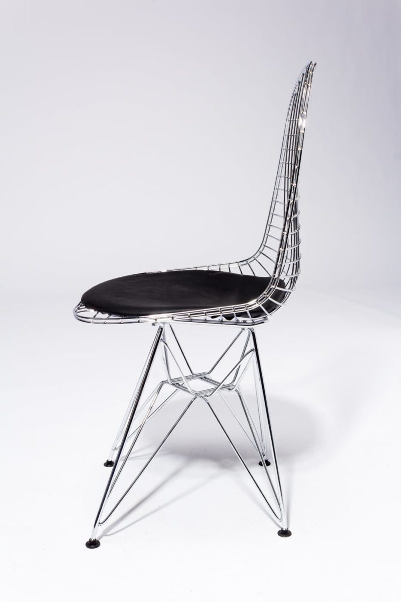 Alternate view 3 of Griffin Chrome Eiffel Chair