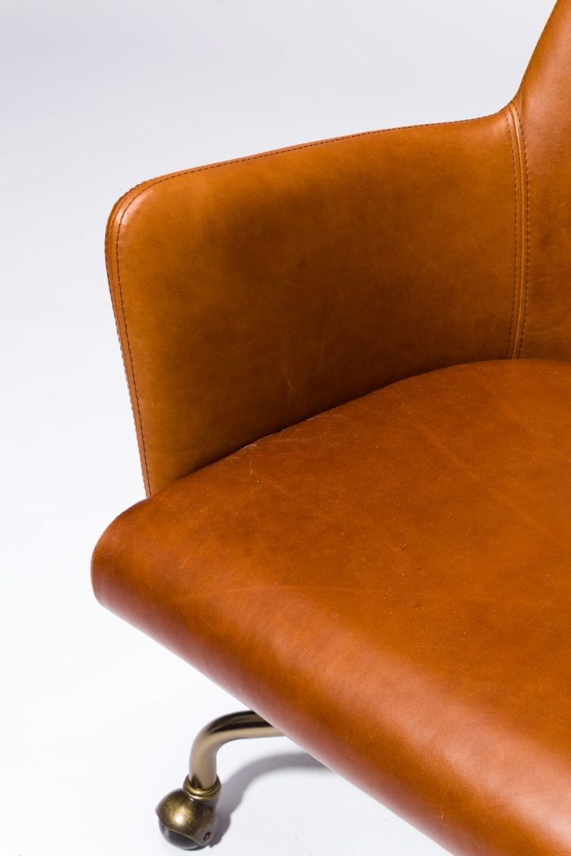 Alternate view 1 of Byrd Leather Rolling Desk Chair