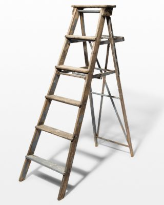Front view of 5 1/2 Foot Grey Jona Ladder