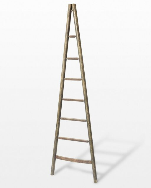 Front view of 8 Foot Tapered Orchard Ladder