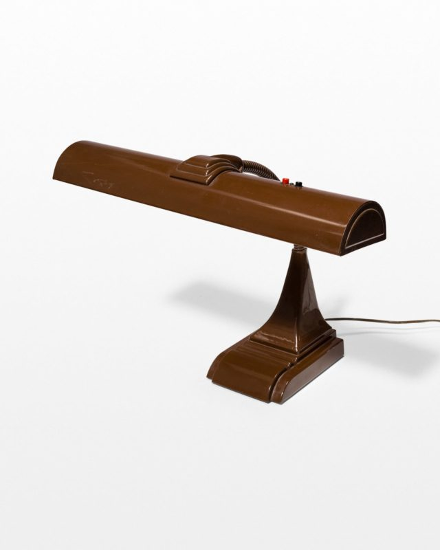 Front view of Fritz Gooseneck Desk Lamp