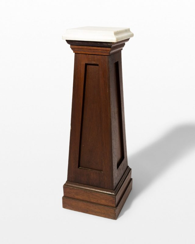 Front view of Osmo Wood Pedestal
