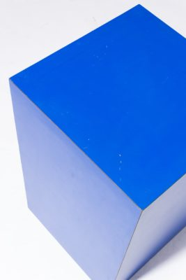 Alternate view 1 of Primary Blue Laminate Pedestal Table