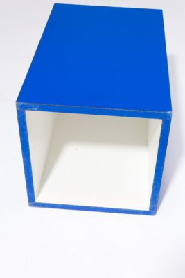 Alternate view 3 of Primary Blue Laminate Pedestal Table