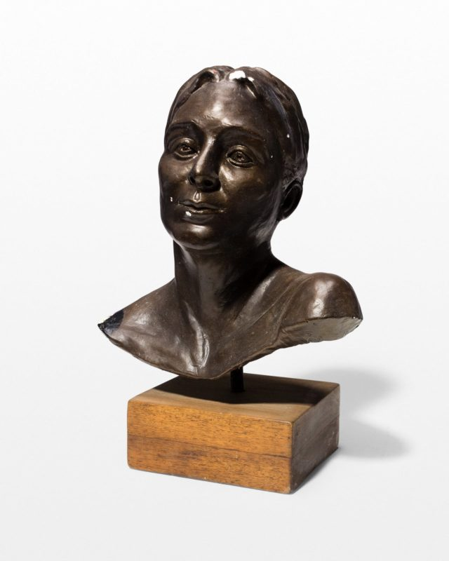 Front view of Natalie Bust