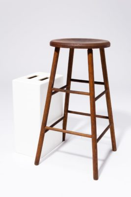 Alternate view 2 of Sierra Wooden Stool