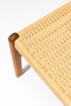Alternate view thumbnail 1 of Hester Woven Rattan Stool