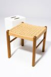 Alternate view thumbnail 2 of Hester Woven Rattan Stool