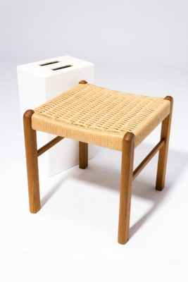 Alternate view 2 of Hester Woven Rattan Stool