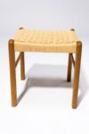 Alternate view thumbnail 3 of Hester Woven Rattan Stool