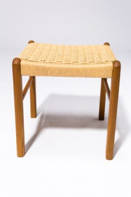 Alternate view 3 of Hester Woven Rattan Stool