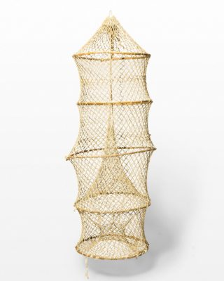 Front view of Woven Hoop Rope Net