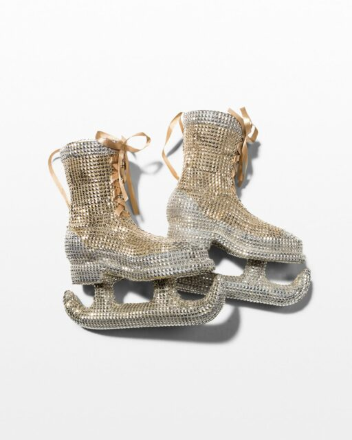 Front view of Disco Ice Skates