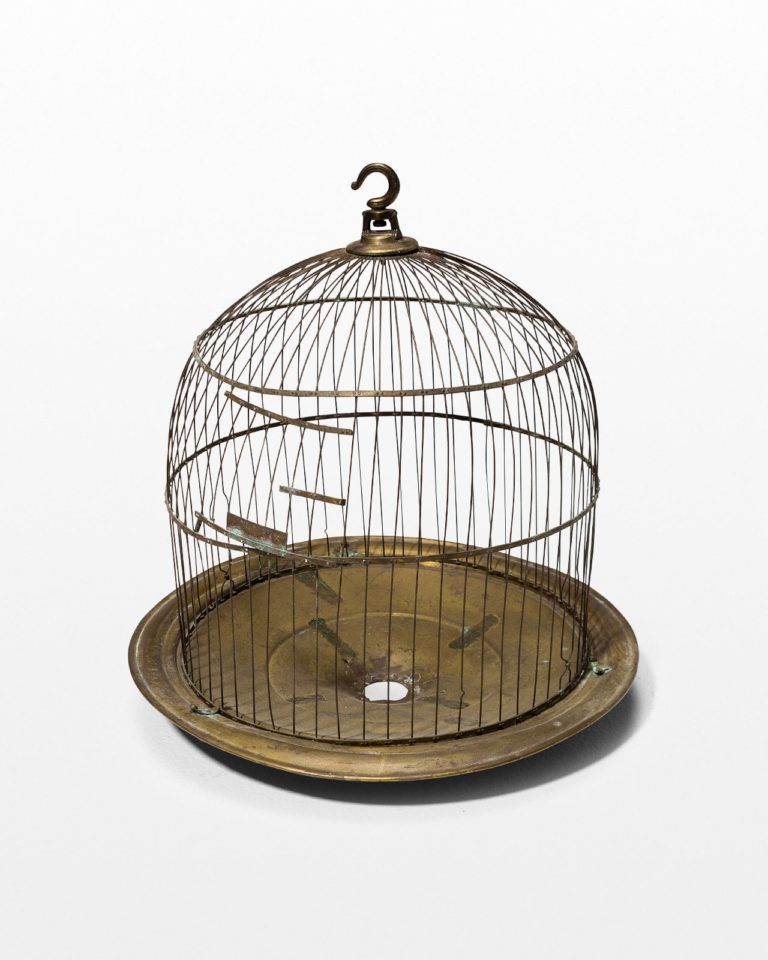 Front view of Orleans Rounded Birdcage
