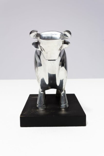 Alternate view 2 of Silver Bull Object