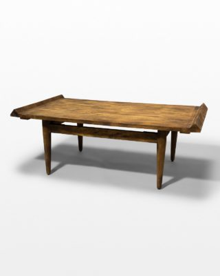 Front view of Knot and Grain Coffee Table