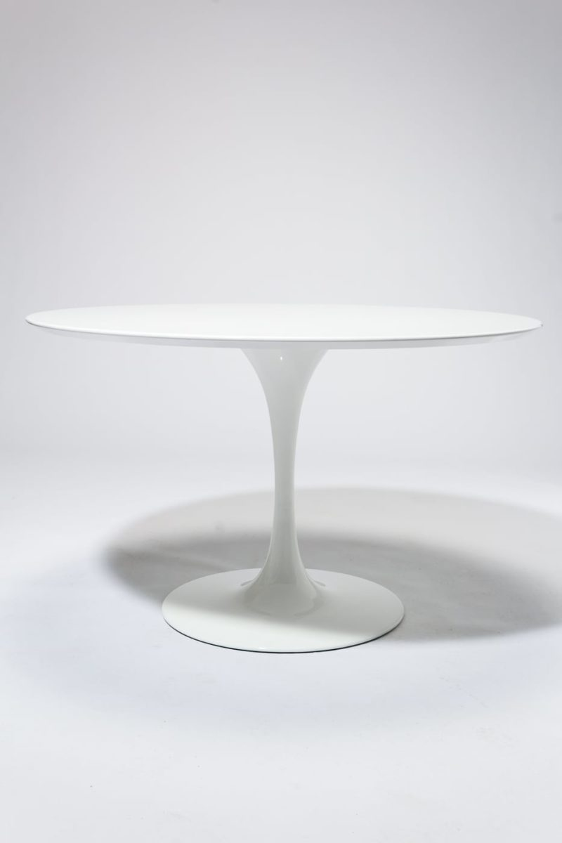"Alternate view 2 of TB169 Becket 47"" Round Tulip Dining Table"