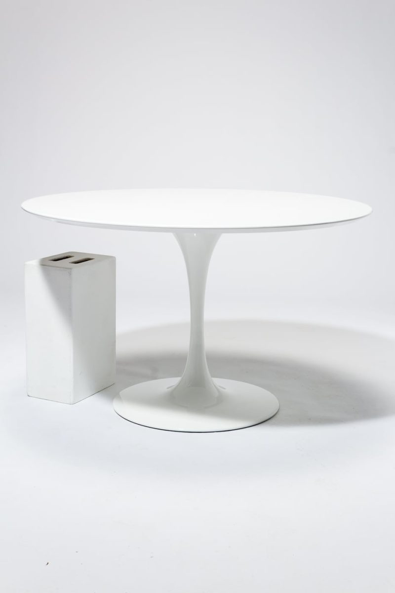 "Alternate view 1 of TB169 Becket 47"" Round Tulip Dining Table"