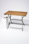 Alternate view thumbnail 2 of Rupert Rustic Folding Table