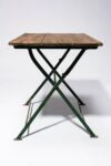 Alternate view thumbnail 3 of Rupert Rustic Folding Table