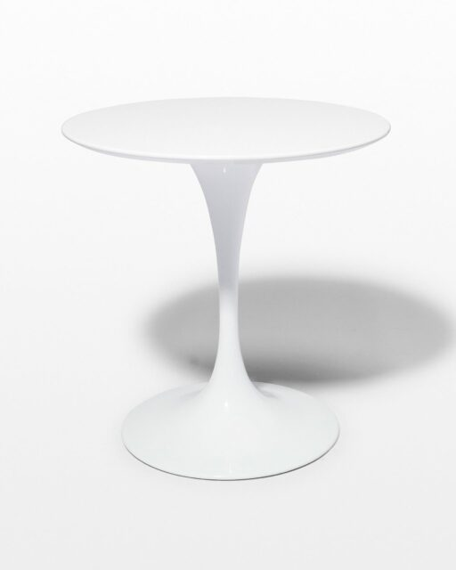 Front view of Anders 28″ Inch Round Tulip Table