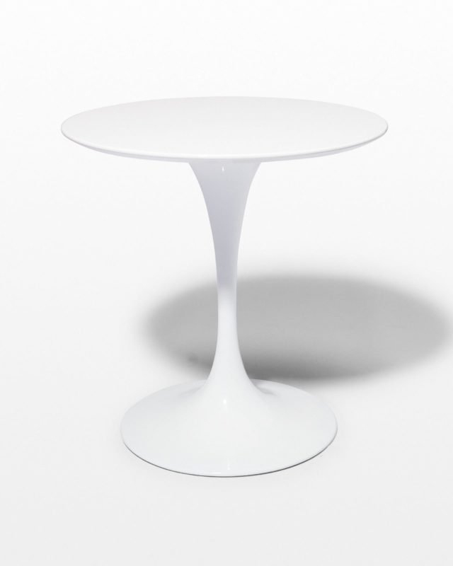 "Front view of Anders 28"" Round Tulip Table"