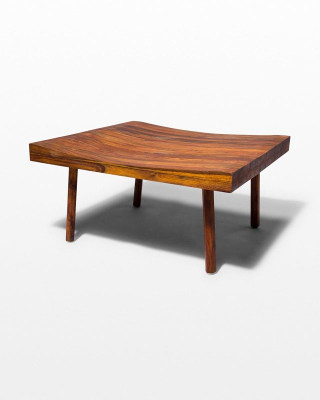Front view of Callan Walnut Coffee Table