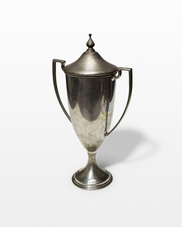 Front view of Stugart Trophy Cup with Removable Top