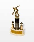 Front view thumbnail of Lanes Bowling Trophy