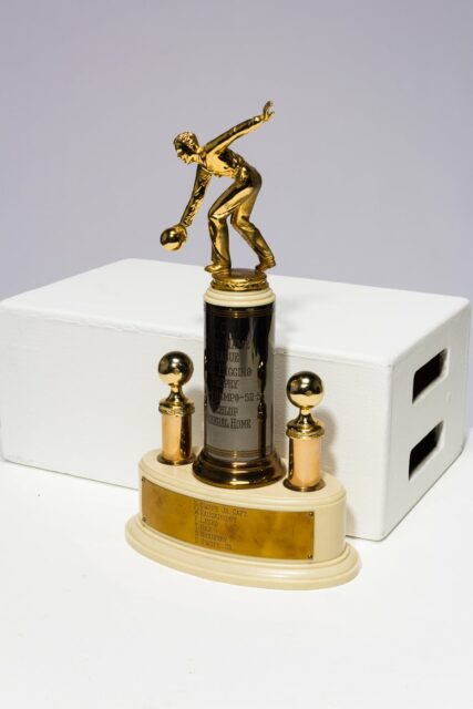 Alternate view 4 of Lanes Bowling Trophy
