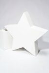 "Alternate view thumbnail 1 of Paintable 40"" Wood Star Shape"