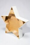 "Alternate view thumbnail 3 of Paintable 40"" Wood Star Shape"
