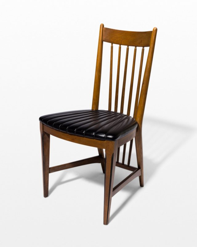Front view of Brax Spindle Chair