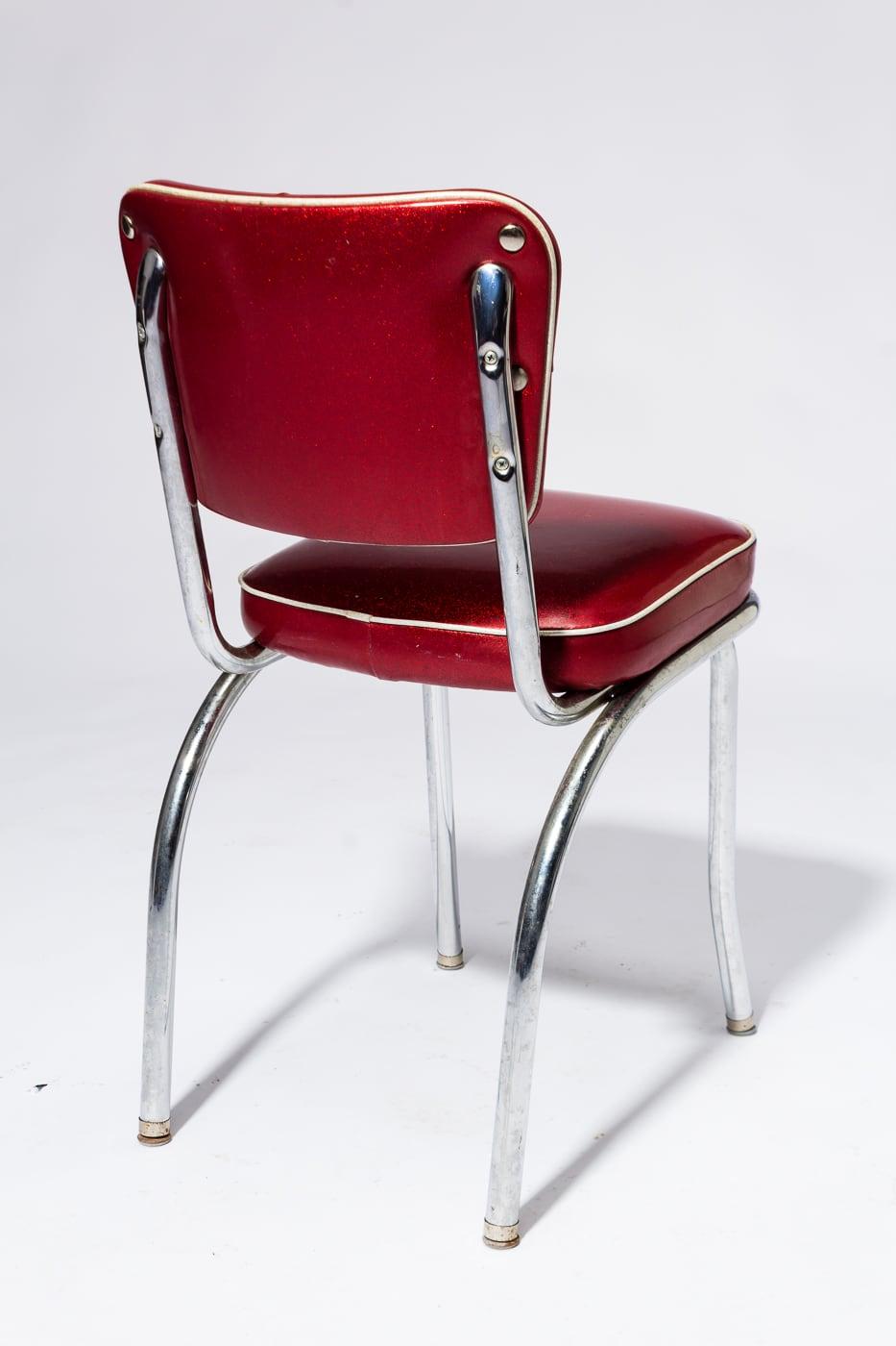 Ch624 Crown Vinyl Dining Chair Prop Rental Acme Brooklyn
