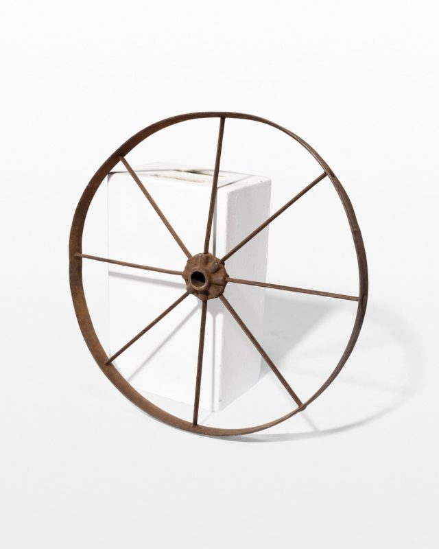 Front view of Norma Metal Wheel