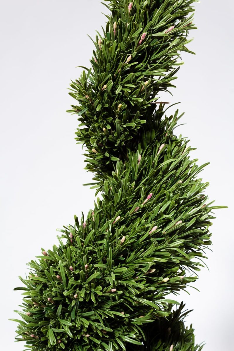 Alternate view 1 of 5' Faux Rosemary Spiral Topiary Tree