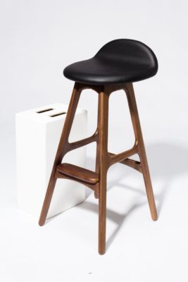 Alternate view 1 of Buckson Walnut Stool