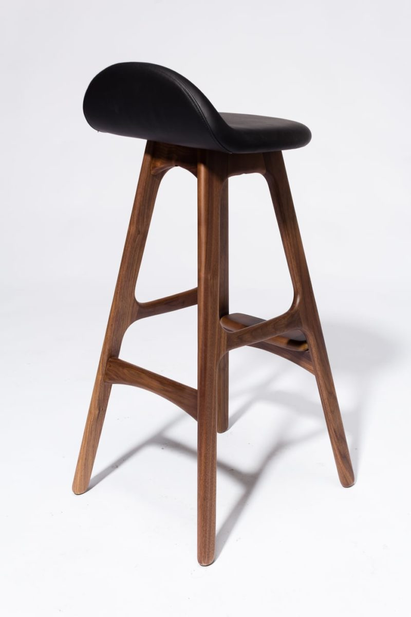 Alternate view 4 of Buckson Walnut Stool