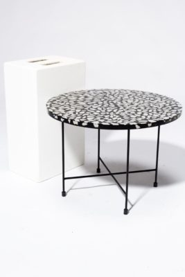 Alternate view 2 of Memphis Terrazzo Coffee Side Table
