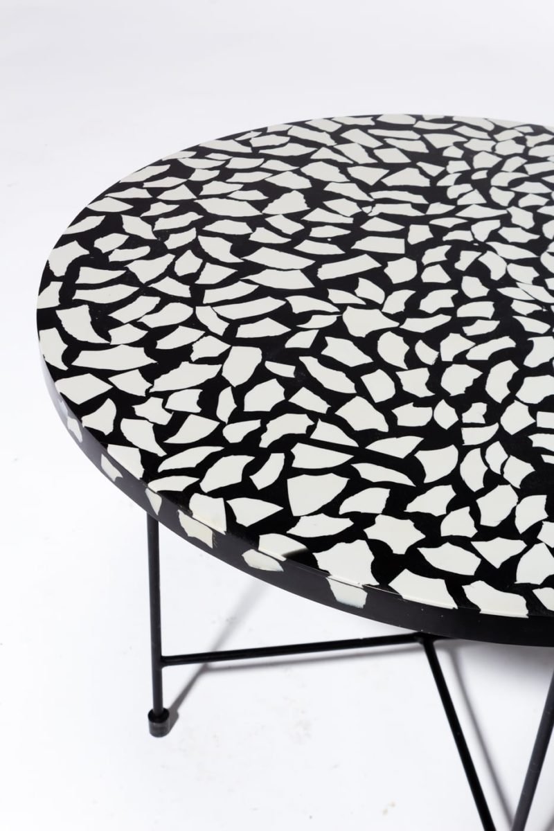 Alternate view 1 of Memphis Terrazzo Coffee Side Table